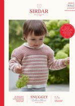 Sirdar Snuggly Baby Cashmere Merino DK Knitting Pattern - 5243 Sweater